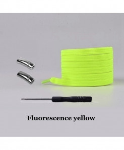 Fluorescence Yellow Elastic Magnetic No Tie Shoe Laces
