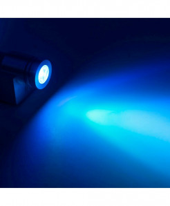 CHINCOLOR Blue Up Down Plated Led Wall Lamp 6W