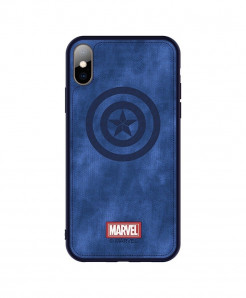 Captain America Shield Back Cover Case