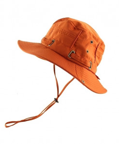 CAMOLAND Orange Polyester Bucket Hats
