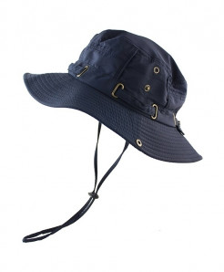 CAMOLAND Blue Polyester Bucket Hats