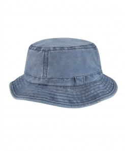 VOBOOM Navy Blue Cotton UV Protection Bucket Hat