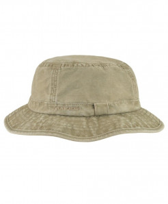 VOBOOM Khaki Cotton UV Protection Bucket Hat
