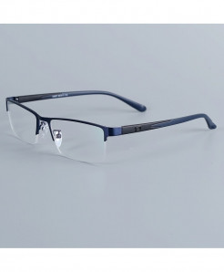 Bellcaca Dark Blue Stainless Steel Spectacle Optical Frame