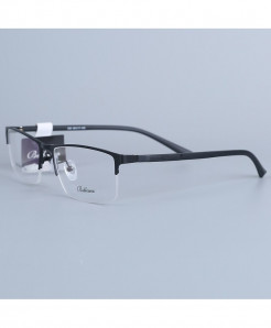Bellcaca Black Stainless Steel Spectacle Optical Frame