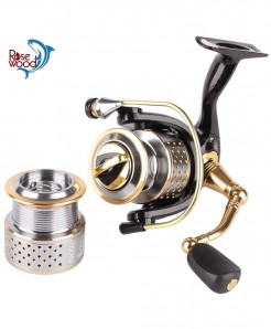 RoseWood Spinning Fishing Reel  Professional Wheels Fishing Tackle