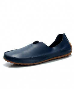 ENLEN&BENNA Blue Breathable Slip-On Rubber Casual Shoes