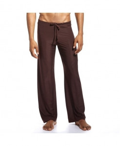 JOCKMAIL Brown Spandex Straight Midweight Pants