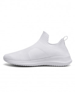 Sollomensi White Cushioning High Pu Sneakers
