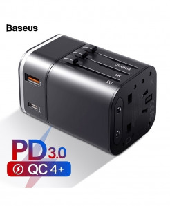 Baseus Universal Travel Adapter Fast Charger