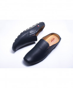 Black Stylish Silp On Loafers LW-4545
