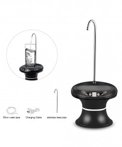 Junejour Black Cold Rechargeable Water Dispenser