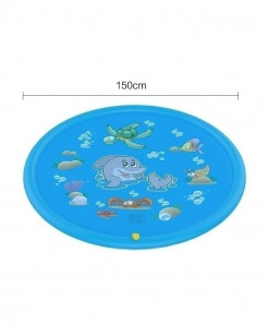 The North E Home 150 Cm Blue PVC Plastic Water Mats