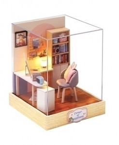 Universe Elephant Library Doll House