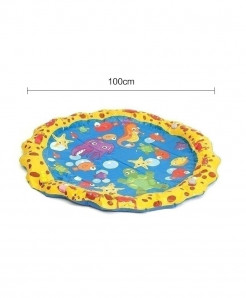 The North E Home 100 Cm Lace Yellow Water Mats