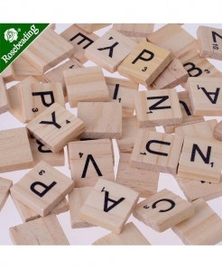 Capital And Small Scrabble Letters