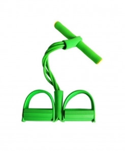 Pack Of 2 Green Ankle Puller Fitness Equipment