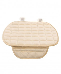 Vodool Beige Cotton Car Seat Cover