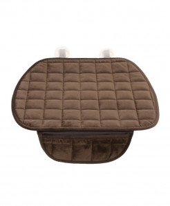 Vodool Coffee Cotton Car Seat Cover