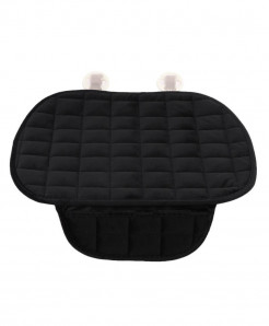 Vodool Black Cotton Car Seat Cover