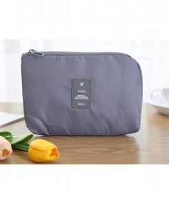 Ruputin Gray Wardrobe Data Storage Bag