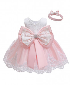 Keaiyouhuo Light Pink Polyester Princess Dress
