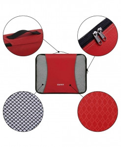 Red RipStop Fabric Three Dimensional Type 9Pcs  Storage Bag
