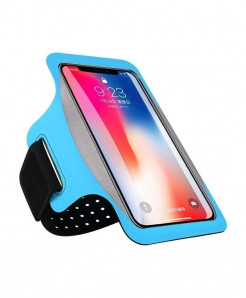 Haissky Blue Running Sport Phone Case Armbands