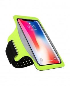 Haissky Green Running Sport Phone Case Armbands