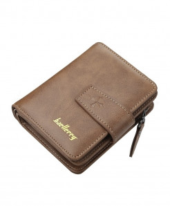 Baellerry Brown Polyester Pu Wallet