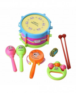 Baby Kids Roll Drum Musical Instruments