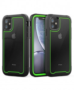 Luphie Green Plain iPhone Back Case