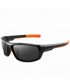 Vianosi Black Alloy Polarized Sunglasses