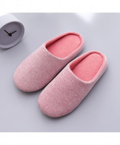 Piyalodocpe Light Pinkt Faux Suede Slippers