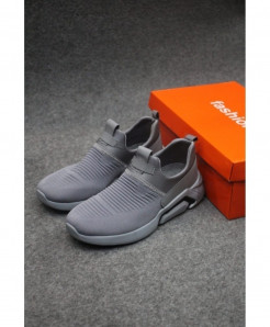 Gray Stylish Design Slip-On Shoes LW-6000