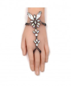 Fashionsnoops Crystal Chain Bracelet AT-1004