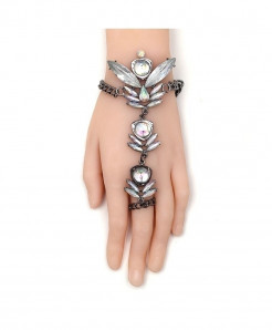 Fashionsnoops Crystal Chain Bracelet AT-1001