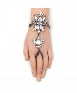 Fashionsnoops Crystal Chain Bracelet AT-999
