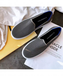 Bonjean Dark Gray Slip-On Eva Casual Shoes AT-623