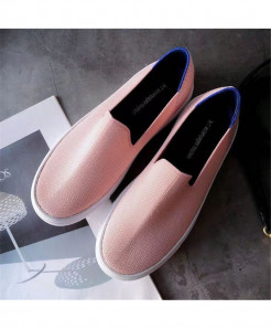 Bonjean Light Pink Slip-On Eva Casual Shoes AT-621