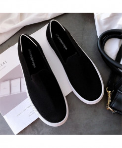 Bonjean Jat Black Slip-On Eva Casual Shoes AT-619