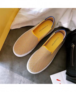 Bonjean Brown Slip-On Eva Casual Shoes AT-616