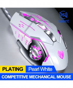 T-WOLF White Dpi 3200 Gamer Gaming Mouse