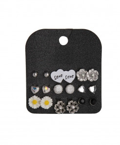 Marte Joven Rhinestone Zinc Alloy Earrings AT-518