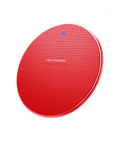 Olaf Red Plastic 10W Fast Wireless Charger