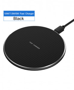 Rock Black Fast Wireless Charger