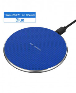 Rock Blue Fast Wireless Charger