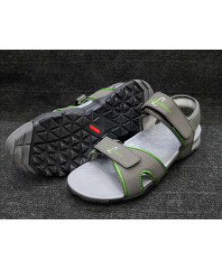 Gray Green Two-Strap Design Casual Sandal LW-6034