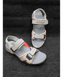 White Two-Strap Design Casual Sandal LW-6033