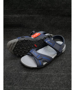 Blue Two-Strap Design Casual Sandal LW-6030
